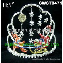 Navidad reno tiara y corona