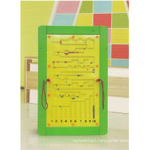 Wooden Playing Maths Wall Game Toy for Kids and Children