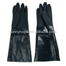 Sandige PVC-Tauchhandschuhe
