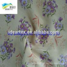 flores de tela modelo impreso