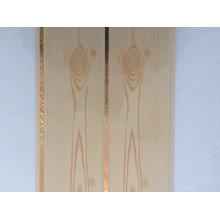 Wood Pattern Print 25m Groove PVC Panel PVC Ceiling