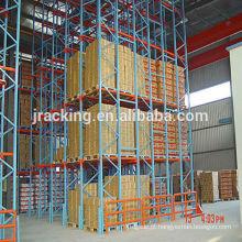 Cremalheira da pálete para o armazenamento Cremalheiras de pálete duy pesadas econômicas altas densidade do vaivém do metal de Jracking do armazenamento