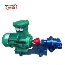 KCB18.3 Pompe à engrenages à résidus de goudron Pompe électrique horizontale