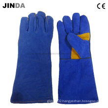 Cowhide Leather Welding Industrial Gloves (L007)