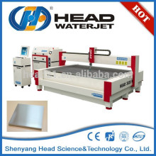 No burr and heated effected zone water jet nickel alloys cutting machine