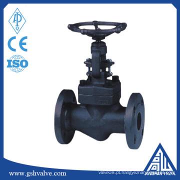 Válvula de globo manual de flange de aço forjado