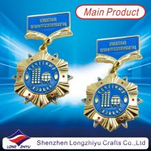 Rusia Medalla de metal dorado Medalla de medalla militar Medalla de esmalte duro (LZY00011)