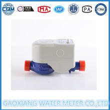 Medidor de água de leitura remota sem fio com amostragem por pulso