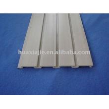 Lagerung PVC-Lamellenwand