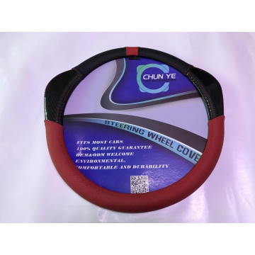 Novelty Style leather steering wheel cover