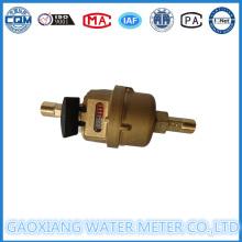 Medidor volumétrico de água de cobre Sheel Dn15-Dn40