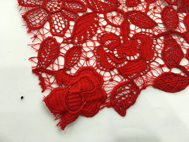 Hot Fashion Cord Embroidery Fabric