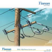 Interrupteur de coupure à l'extérieur de 24 kV-Moyen-tension-Isolation d'air