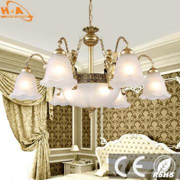 Lámpara colgante para el hogar, certificada por Ce, flor, forma, ahorro de energía
