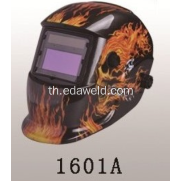 กะโหลกศีรษะ Solar Auto Darkening MIG Electric Mask