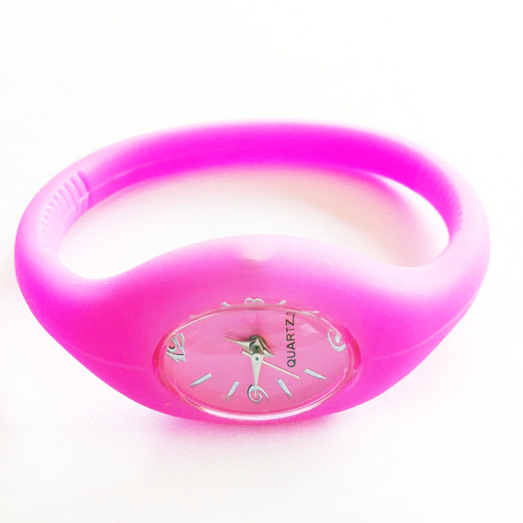 Students Jelly Quartz Watches Gifts