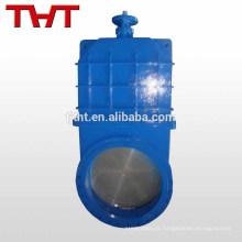 Válvula de portão de engrenagem cônica de furação total com engrenagem de tamanho grande dn32