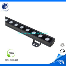 Bañador de pared LED impermeable de 18W