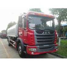 4x2 LHD 15tons 15000liters JAC água de tanque de caminhão bomba água