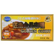 100g Curry japonês dourado cubo sabor Original