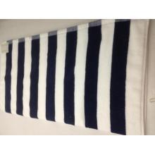 Luxury 30inch by 60 inch Stripe Beach Cotton Towel