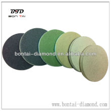 Polishing pads with diamond