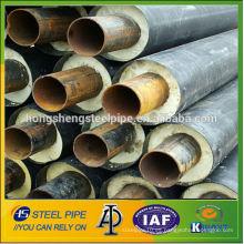 Tubo de acero resistente del aislamiento de la espuma flexible pe uv