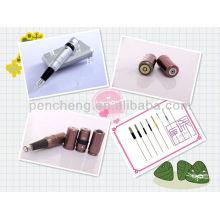 Pistola permanente sin hilos del tatuaje del maquillaje con la batería y buen vendedor y nueva máquina del tatuaje del diseño