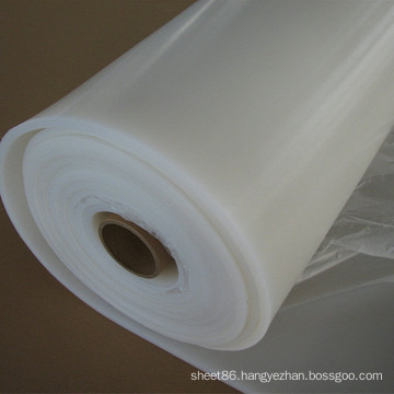 Heat Resistance Max 240 C Transparent White Silicone Rubber Sheet