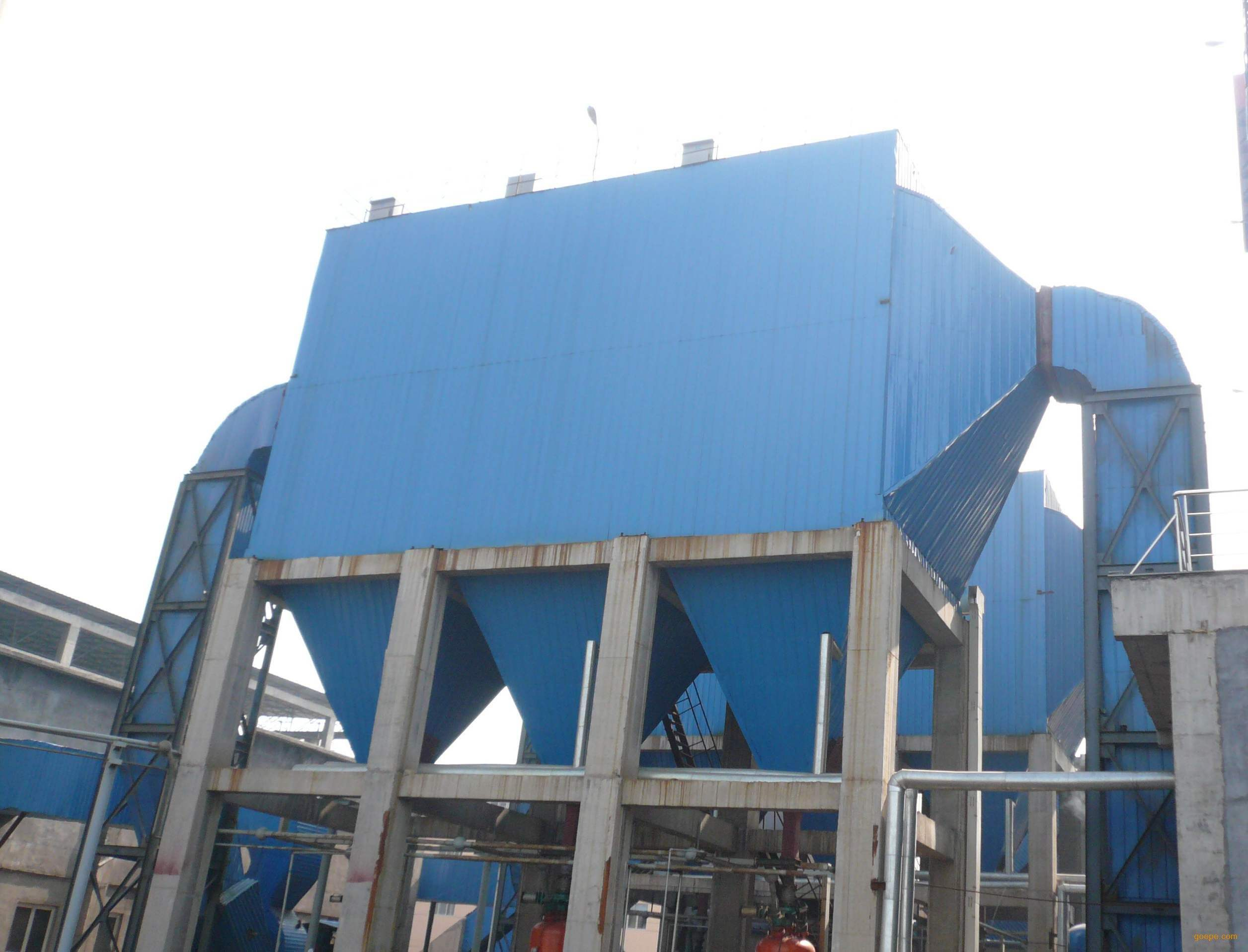 Cement industry bag type dust collector