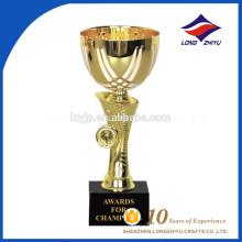 2017 новый тип элегантный металл трофей награды китайских поставщиков
