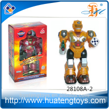 New arrive ABS Plastic talking toy robot action figure toys