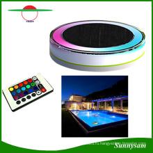 Цвет RGB и пульт дистанционного управления с ip68 СИД солнечный свет плавающей