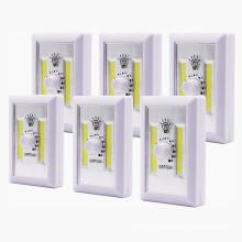 Светодиодный аккумуляторный аккумулятор COB со светодиодной подсветкой