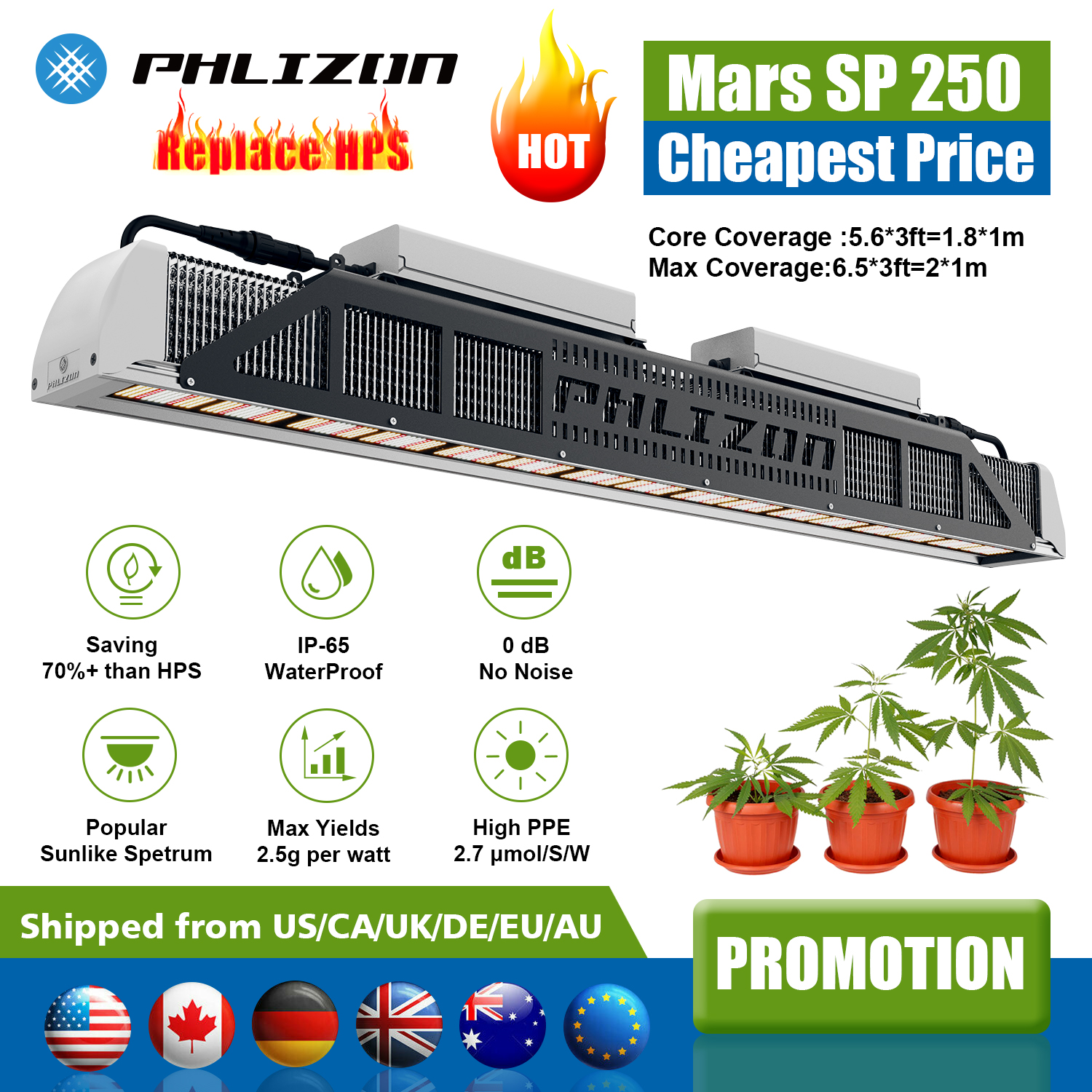 led lights hydroponics wholesale