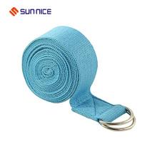Ajustable Ejercicio D-ring Yoga Strap