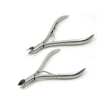 Best Seller Nail Art Tools Stainless Steel Curved Cuticle Nail Nipper