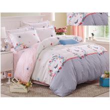 4PCS Printed Patchwork Comforter Set for Home F1714