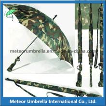 Специальный камуфляж с разрушающим узором формы для оружия Автоматический зонтик для охоты на гольф