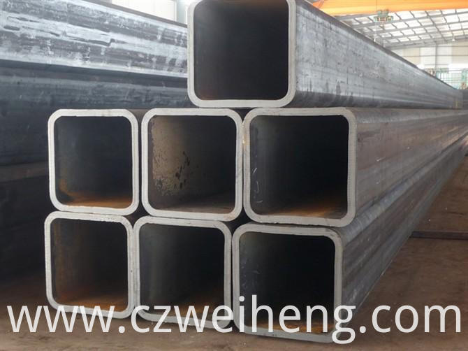 thick wall seamless steel square tube
