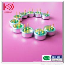 Omnidireccional Piezo Ceramic 6027 Microfone Mic
