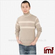 Чистый мужской кашемировый свитер