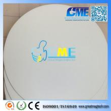 Kundenspezifischer bedruckbarer runder flexibler Kuss-Schnitt-Magnet
