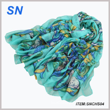 2015 Spring Fashion Floral Scarf for Women