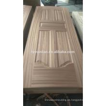 Talla de puerta decorativa de mdf Talla de madera Piel de tablero de puerta de diseño