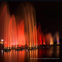 Регулируемый музыкальный танцующий фонтан