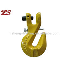 CLEVIS SHORTENING HOOK WITH SPRING