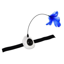 Removable Rotating Cat Activity Feather Electronic Cat Laser Toy