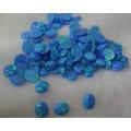 Голубой опал созданный для ювелирных изделий