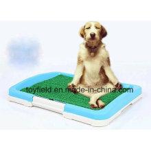 Neue Hund Toilette Portable Plastik Töpfchen Tablett Haustier Toilette
